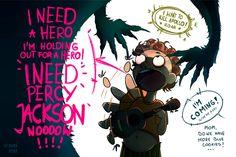 I need Percy Jackson by EurekaRysuje