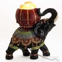Lampara De Sal Elefante - Espectacular- Decoración Regalo Animal 2, Animal Decor, African Design, Staging, Sculpture Art, Decoupage, Diy And Crafts, Pottery, Elephants