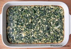 Gourmet Girl Cooks: Greek Style Spinach-Feta Pie (Appetizer Style) - Low Carb & Gluten Free