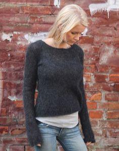 Musvåge Sweater strikkekit