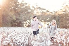 cotton field engagment   Enjoy, and stay tuned for the post from our New York wedding coming ...
