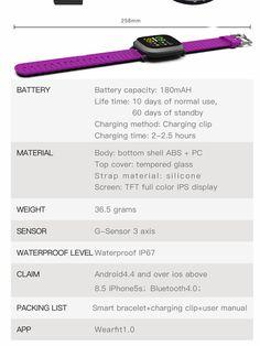 Bakeey M30 1.3' Sleep HR Blood Oxygen Pressure Monitor IP67 Waterproof Message Alarm Smart Watch