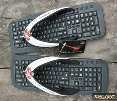 Nice..unique n funny footwear
