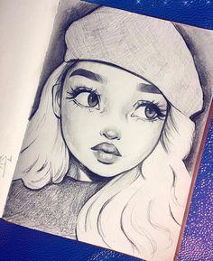 As fluers little sister gabriel cute drawings, drawings of girls faces, beautiful drawings, Girl Drawing Sketches, Girl Sketch, Pencil Art Drawings, Drawing Ideas, Drawing Faces, Drawings Of Girls Faces, Sketches Of Girls, Person Sketch, Tumblr Sketches