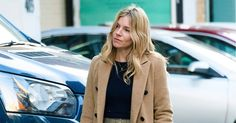 Sienna Miller Combats the Chill In Socks and Loafers