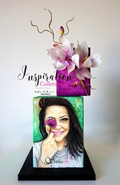 """INSPIRATION COLLECTION"" Painted Cakes by Sophia Fox - Sofia Ribeiro by Sophia Fox"