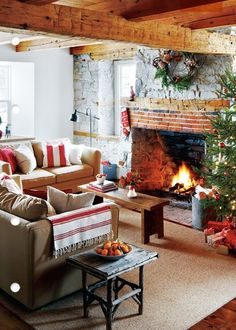 adore this perfect living room. No electronics just conversation, warmth and a comfy home feel to it