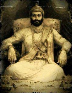 The original portrait of Chhatrapati Shivaji Maharaj From The London Library…