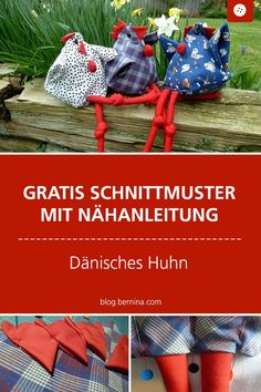 Free Sewing Pattern: Sewing Danish Chicken # dänischeshuhn # nähenmachtg The post Sewing instructions for Easter: the Danish chicken appeared first on Woman Casual - DIY and crafts Sewing Patterns Free, Free Sewing, Free Pattern, Pattern Sewing, Diy And Crafts, Crafts For Kids, Craft Free, Textiles, Free Blog