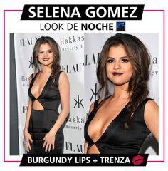 Selena Gómez, celebrity, vestido negro, look de noche, ocasión de noche