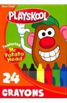 Playskool 24 Count Crayons