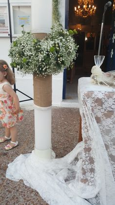 Lace Wedding, Wedding Dresses, Table Decorations, Fashion, Bride Dresses, Moda, Bridal Gowns, Fashion Styles, Weeding Dresses