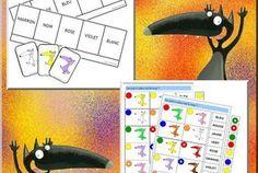 Des jeux tout en couleurs pour mes GS