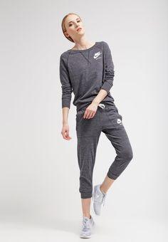 GYM VINTAGE - Sweatshirt - gris anthracite blanc   Zalando.de 🛒.  Unternehmungen  Nike Sportbekleidung 7d72dcf0eb