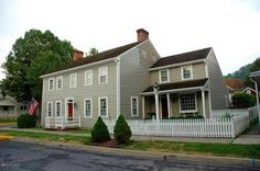 1802 Colonial House - Mifflinburg, PA ... just up the street from my parents