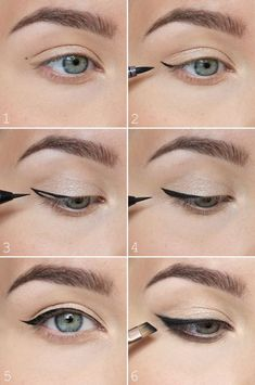 Step By Step Eyeliner Tutorials For Beginners