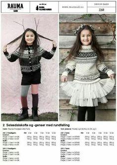 Last ned informasjonspdf Norwegian Knitting, Knitting For Kids, Baby Kids, Kids Fashion, Sweaters, Cardigans, Children, Inspiration, Clothes
