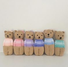 knitted doll patterns Ravelry: Izzy Teddy Bear Dolls pattern by Esther Braithwaite Teddy Bear Knitting Pattern, Knitted Doll Patterns, Knitted Dolls, Knitting Patterns Free, Baby Knitting, Bear Patterns, Knitting Designs, Crochet Dolls, Diy Teddy Bear