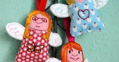 Ab morgen gibt es im Shop von   * Anja Rieger * ganz zauberhafte   Glücks ♥ Engel ...     Ich liebe ja die charaktervollen   Gesic...