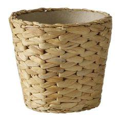 IKEA - FRIDFULL, Ruukku, Muovisen sisäruukun ansiosta ruukku on vedenkestävä.