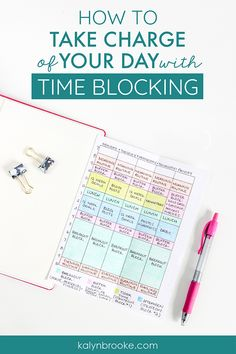 Time blocking revolutionized my life! I can't believe how much this simple productivity tool affected how much I could accomplish in a single day. These tips are exactly what your looking for if you want to crush your goals and be more productive with yo Time Management Strategies, Good Time Management, Time Management Printable, Time Management Planner, Time Management Quotes, Project Management, Startup, Planner Organization, Organizing Clutter