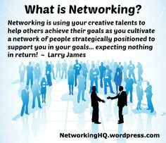 "Networkers! ~ New article, ""What is Networking?"" on my Networking Blog (designed not to sell, but to teach!). Something new about networking is posted every 4th day! More than 400 FREE Articles!  Tell your friends by clicking ""SHARE."" ~ http://networkinghq.wordpress.com/2013/12/21/what-is-networking/  Another Networking HotSpot:  http://www.TenCommitmentsofNetworking.com"