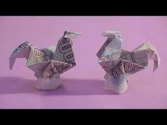 49 Ideas Origami Tutorial Horse Watches For 2019 Origami 3d, Kimono Origami, Origami Music Note, Origami Xmas Tree, Easy Money Origami, Origami Pokemon, Money Origami Heart, Money Origami Tutorial, Dragon Origami