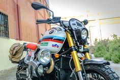 XTR Pepo BMW R NineT Dakar Tribute Motorcycle