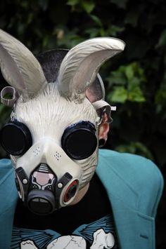 Rabbit Gas Mask