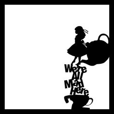 Die Cut Disney Character: Alice in Wonderland by OldPineShop