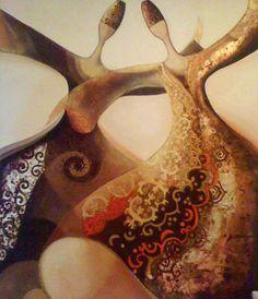 (14) Canan Berber Islamic Paintings, Arabic Art, Turkish Art, Handmade Books, Tribal Art, Islamic Art, Art Oil, Art Pictures, Unique Art
