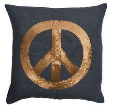 Peace kussen