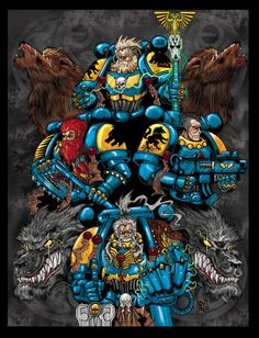 2edit averyforge bolter chainaxe creature crozius_arcanum imperium power_fist space_marines space_wolves sword wolf