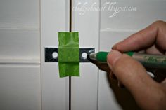 How to Turn BiFold Doors into swinging door love that they stay closed with magnets