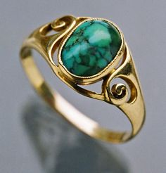 Jugendstil Ring - Tadema Gallery