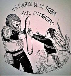 Protest Kunst, Protest Art, Feminist Tattoo, Feminist Art, Arte Latina, Crust Punk, Graffiti Wall Art, Political Art, Chicano Art