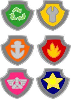 Divine image for paw patrol badge template printable