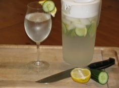 Day Spa Cucumber Lemon Water- 0 calories « Lose Weight by Eating!