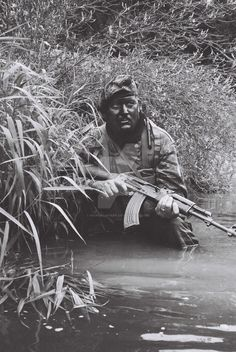 Navy SEAL team 1 Vietnam 1969-70 One of my team mates, We are part of a reenactment team that specifies in Vietnam Era Special forces, namely MAC V SOG. Taken on an old school Olympus Trip 35, with...