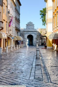 Towards the Sea Gate, Zadar, Croatia Visit Croatia, Croatia Travel, Thailand Travel, Italy Travel, Bangkok Thailand, Plitvice Lakes National Park, Sight & Sound, Las Vegas Hotels, Scotland Travel