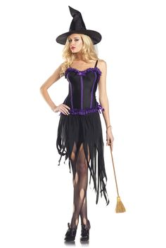 Be Wicked Witch Costume, Sexy Witch Costume  http://www.planetgoldilocks.com/halloween/sexycostumes3.html