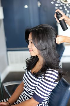 When a new client is in my chair I always ask if there's anything about their hair drives them crazy. Most everyone wants to go from frizzy to smooth or from flat to full -- turns out we all want w...