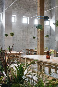 Wild Herb Cafe for Helsinki Design Week 2015 | Joanna Laajisto