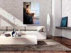 Jan Dubrowin - artist - Art in House Art Gallery Fine Arts College, Modern House Design, Artist Art, Home Art, Teak, Contemporary Art, Art Gallery, Living Room, Interior Design