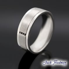 An exquisite range of Mens wedding rings, our collection redefines the design of men's bands with style & edge. Find out more about gents wedding bands here Wedding Ring For Him, Wedding Rings, Gents Ring, Womens Wedding Bands, Black Diamonds, Modern Man, Jewlery, Rings For Men, White Gold