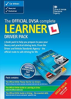 The Official DVSA Complete Learner Driver Pack 2014 by Driver and Vehicle Standards Agency (DVSA) http://www.amazon.co.uk/dp/011553315X/ref=cm_sw_r_pi_dp_7kM9vb0FEBTA4