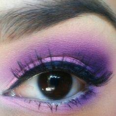 Make up / Maquillaje Purple Pink Punk-Desiree E   very pretty look