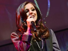 Pop Music Artists, Red Leather, Leather Jacket, Cher Lloyd, Dreadlocks, Hair Styles, Beauty, Fashion, Studded Leather Jacket