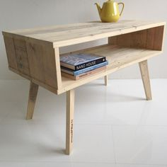 Home-Dzine - Recycled timber pallets now designer range