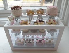 Miniature Cottage Bakery Counter❤❤❤